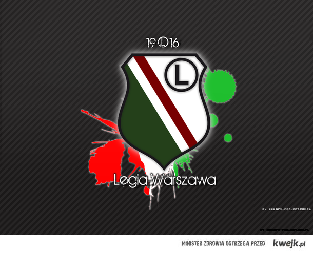 Za nasze miasto I za te barwy Oddamy całe życie swe Zwyciężaj dla nas My zwyciężamy (L)egio Warszawa, kocham Cię.!