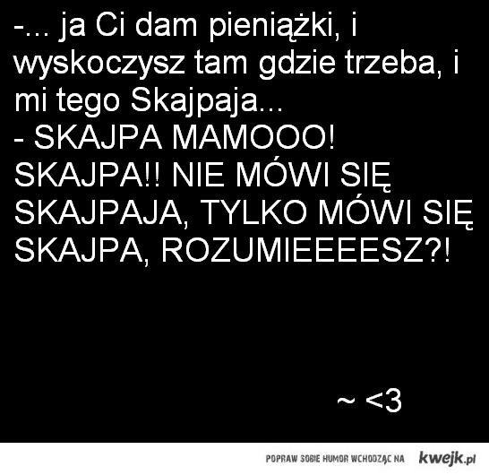 SKAJPA! ~ rodzinka.pl ♥