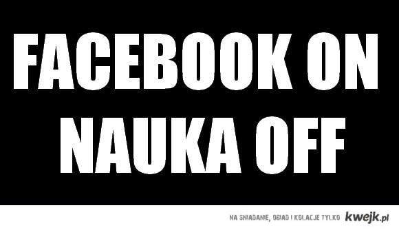 facebook on nauka off