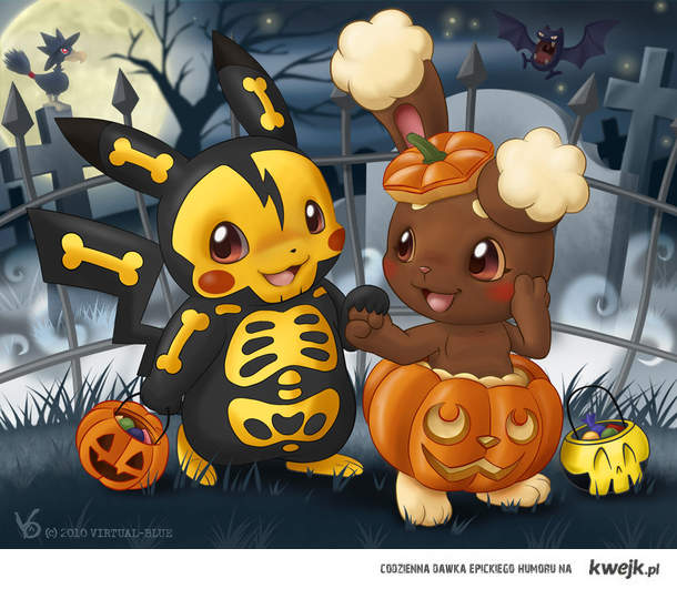 Halloween with PikaPika.