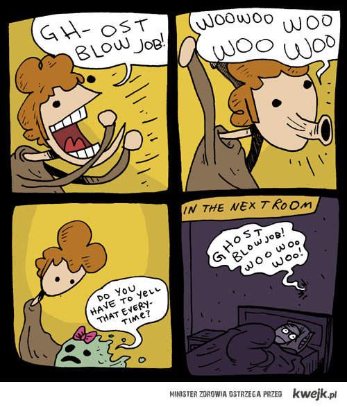 ghost blowjob!