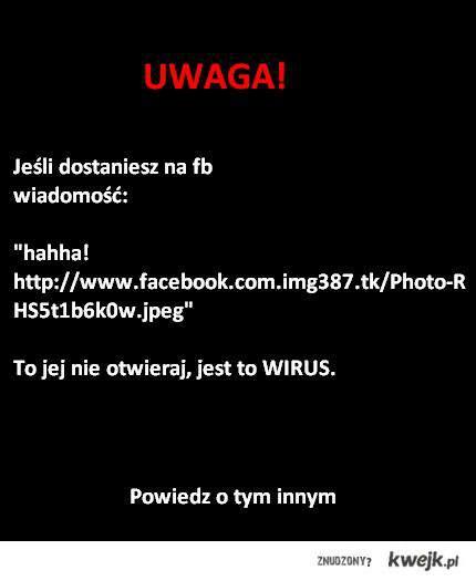 Wirus na FB