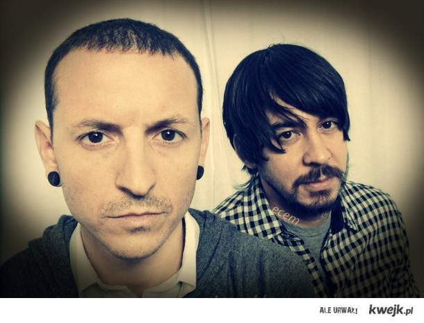 Mike & chester <3