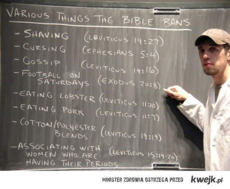 Co zakazuje Biblia
