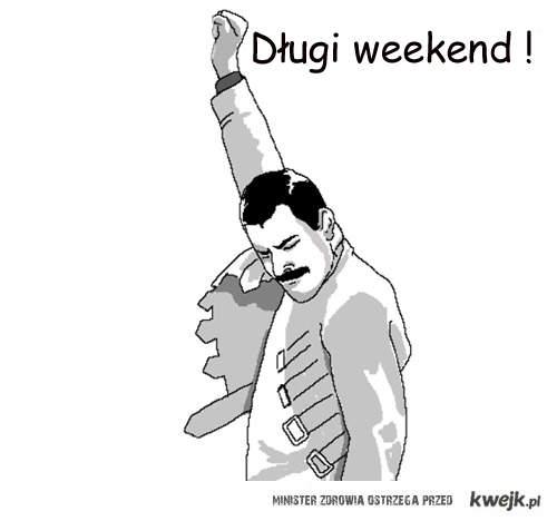 długi weekend ^^