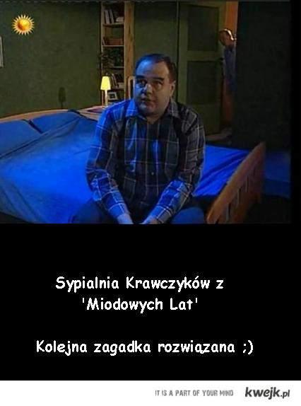 Sypialnia z 'Miodowych Lat'