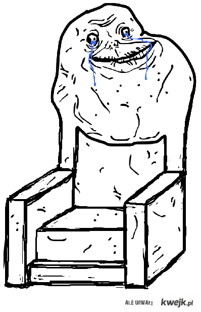 forever alone chair
