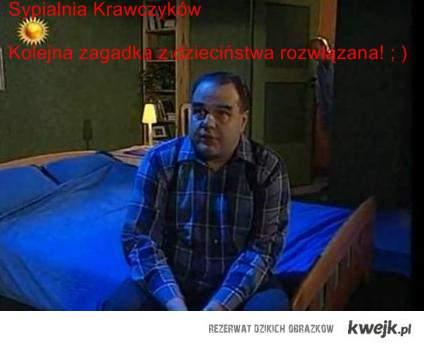 Sypialnia Krawczyków