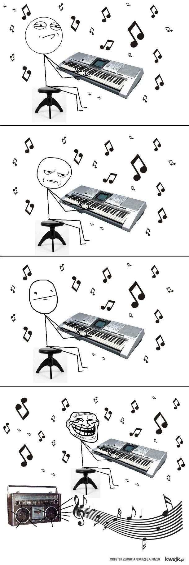Gra na keyboardzie