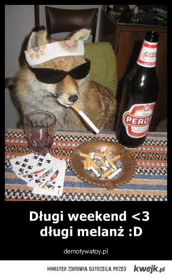 No to mamy weekend <3