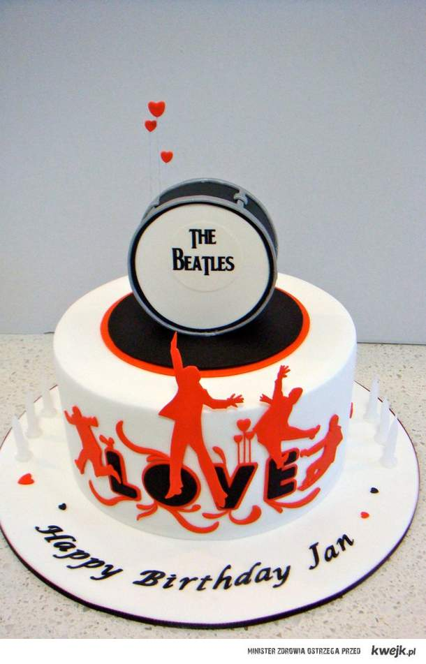 Beatles cake.