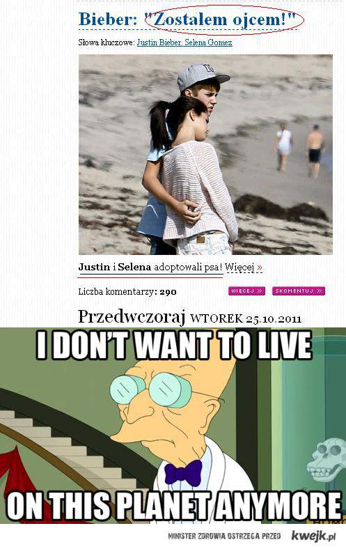 Justin Bieber i Sellena Gomez mają nowe dziecko...