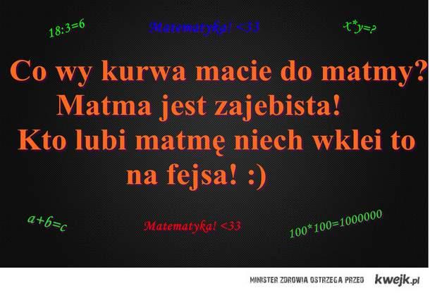 Matematyka! <3