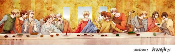 Hetalia last supper