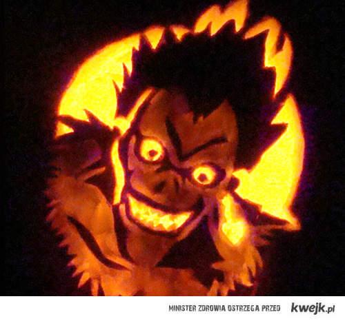 Ryuk pumpkin