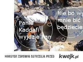 Panie Kaddafi