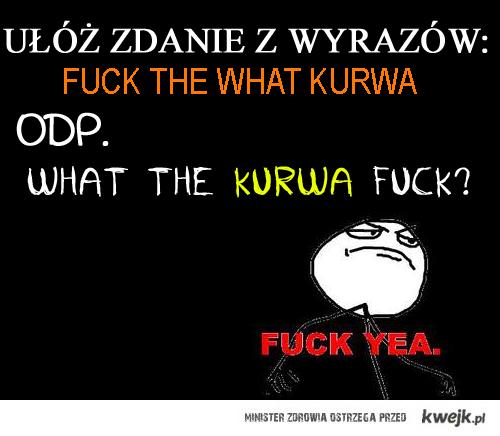 What the kurwa fuck?