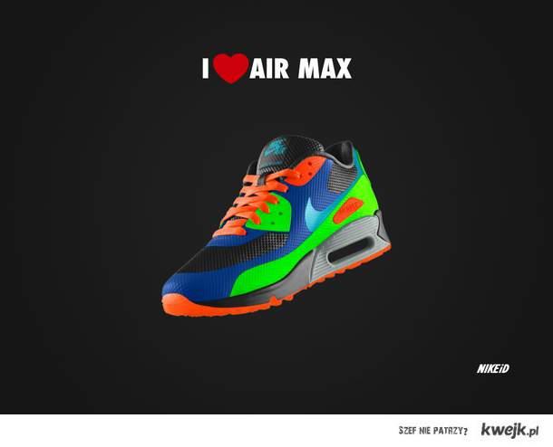 Air max nike i love
