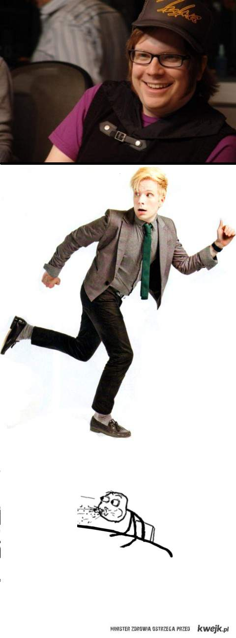 patrick tump- fall out boy