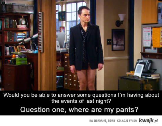 Sheldon pants
