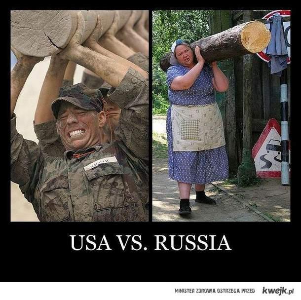 USA vs RUSSIA