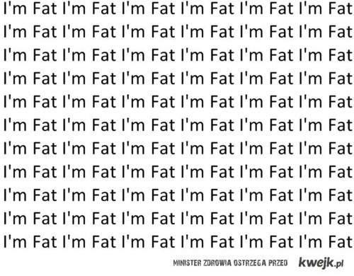 i'm fat