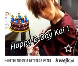 Happy B-Day Kai ! <3