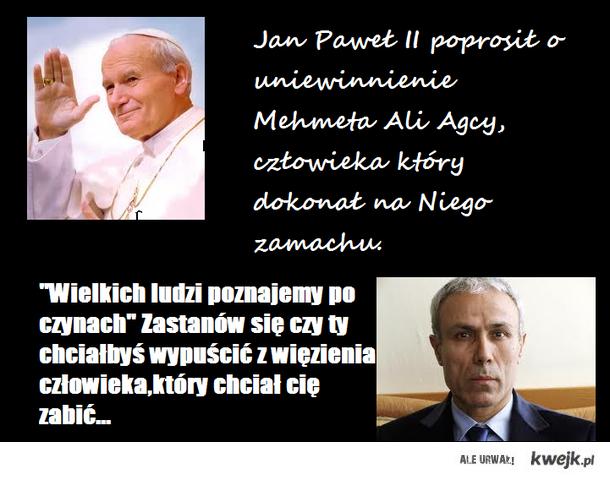 Jan Paweł II wielki człowiek