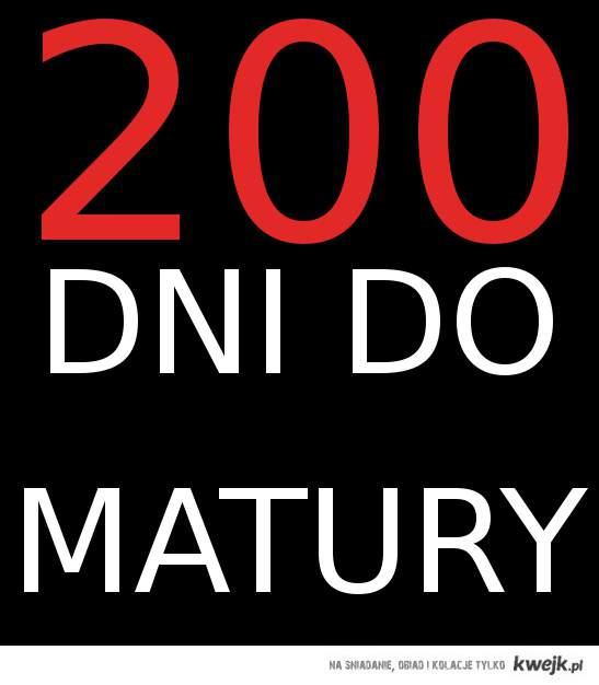 200 dni do matury