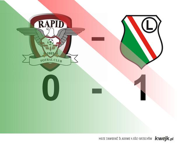 Legia - Rapid 1-0