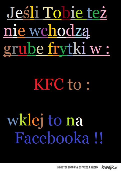 Frytki w KFc