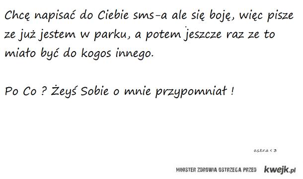 sms ; )