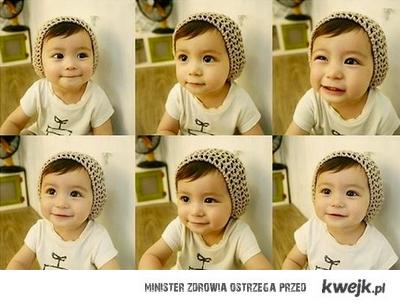sweet korean baby