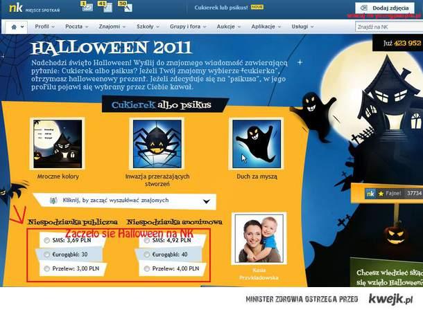 Zaczęło się Halloween na NK...