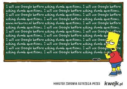 Używaj Google!