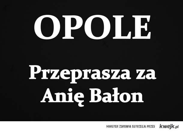 Opole przeprasza