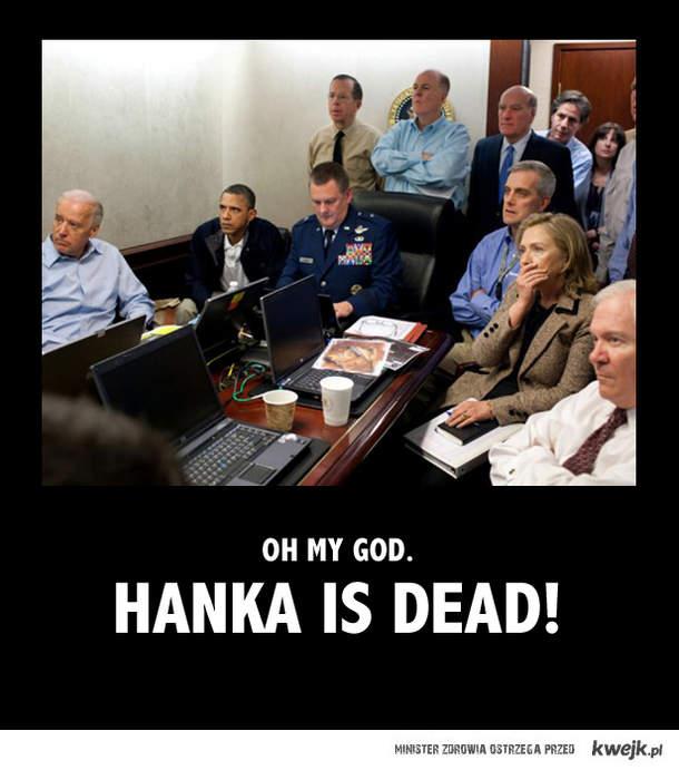 reakcja o smierci Hanki obiega caly swiat