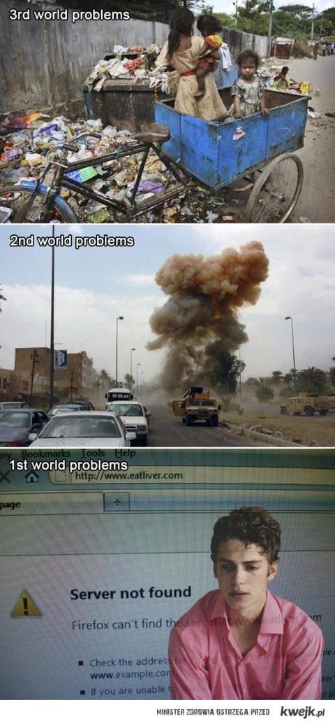 problemy świata