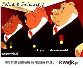 politycy to ludzie na medal