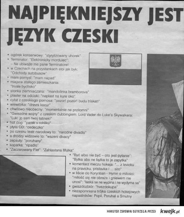 Oh, ten język Czeski