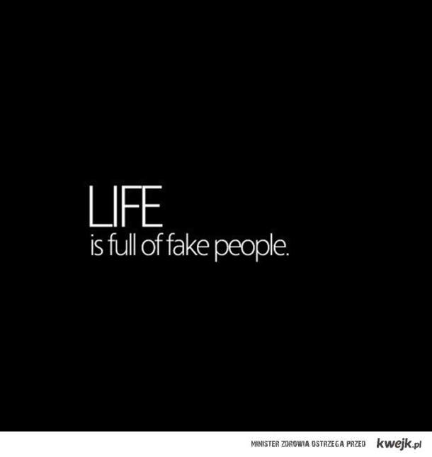 fake people.