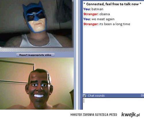 Batman vs Obama