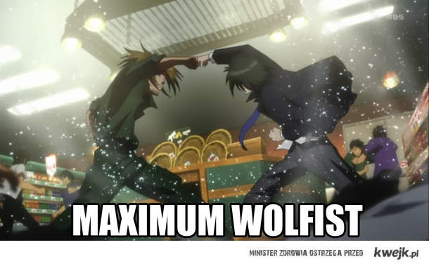 MAXIMUM WOLFIST