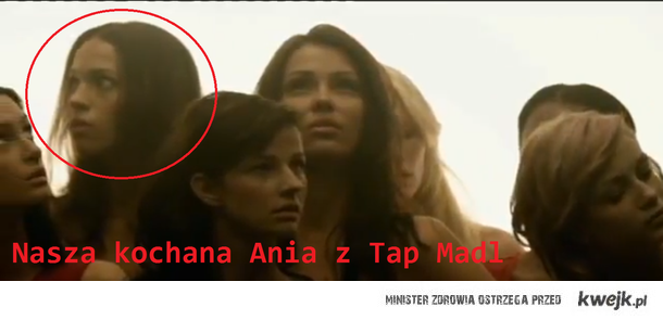 Ania w czołówce Tap Madl