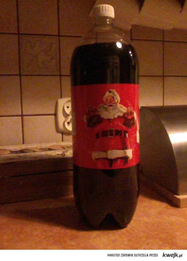 Kupiłam dziś Coca-cole z obrazkiem świątecznym! Coraz bliżej święta !