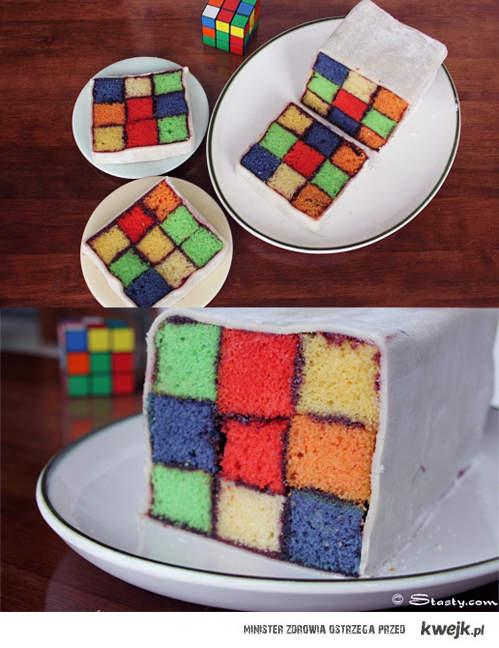 ciastko - Kostka Rubika