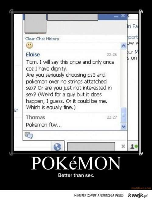 Pokemons > SEx