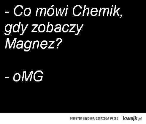 chemik - żarcik