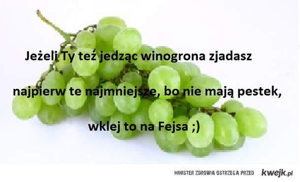 Winogrona ;)