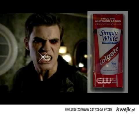 Stefan - nowa twarz Colgate.